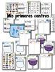 Letras magnéticas - 100 centros de aprendizaje BUNDLE