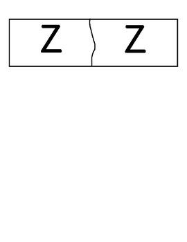 Letras mayuscula y minuscula en espanol