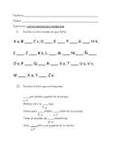 Letras mayúsculas y minúsculas