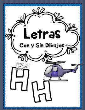 Letras - simples, grandes, con y sin dibujos