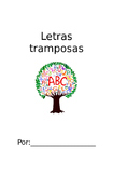 Letras tramposas libreta/ Tricky Letter Booklet in Spanish