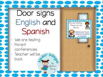 Letreros bilingües