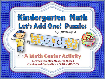 Addition - Math Centers and Games - Puzzles