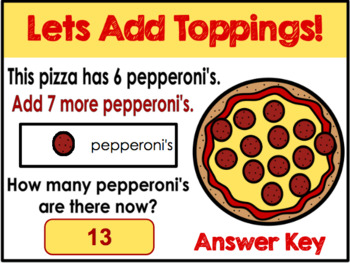 Lets Add Toppings Distance Learning GOOGLE CLASSROOM ACTIVITY!