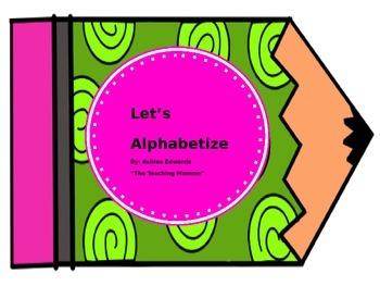 Let's Alphabetize
