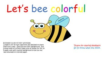 Let's BEE Colorful