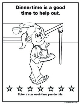 Let's Be Good:  Good Behavior Coloring Book