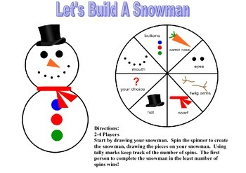 Let's Build A Snowman (Math and Art)