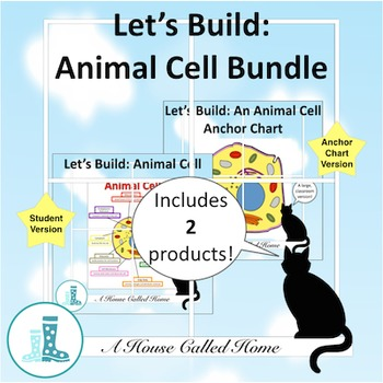 Let's Build: Animal Cell Bundle