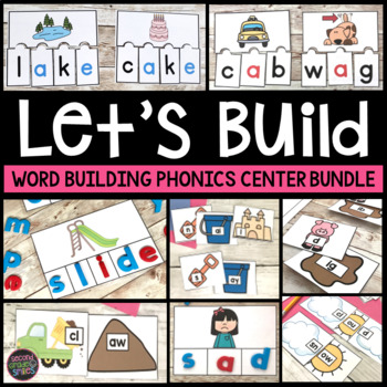 Word Work (Hands-On Word Building Centers)
