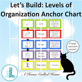 Let's Build: Levels of Organization Anchor Chart