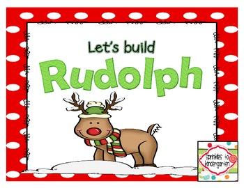 Let's Build Rudolph! {Freebie}
