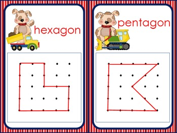 Let's Build Shapes (Geoboards)