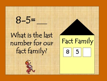 Let's Build Some Fact Family Houses