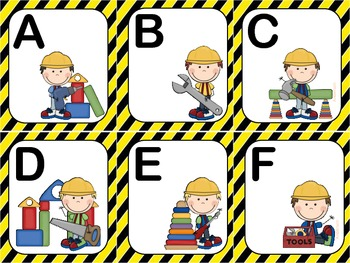 Let's Build The Alphabet- Sequencing ABCs