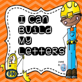Let's Build The Alphabet ( Uppercase and Lowercase Letters)