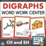 Consonant Digraphs CH SH Activity