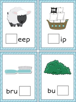 Consonant Digraphs CH SH Activity