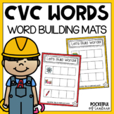 CVC Words Short Vowel Building Game