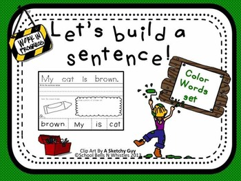 Let's Build a Sentence/Color Words
