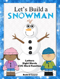 Let's Build a Snowman Phonics Game