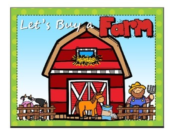 Let's Buy a Farm Financial Literacy for 3rd Grade Vocabulary Power Point