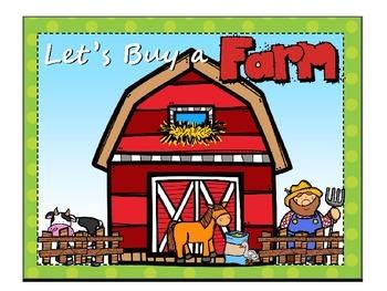 Let's Buy a Farm Financial Literacy for 3rd Grade Vocabula