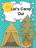 Let's Camp Out! (Common Core Aligned Literacy and Math Centers)