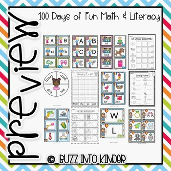 Let's Celebrate 100 Days of Fun! (100th Day of School)