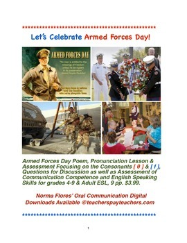 Let's Celebrate Armed Forces Day!