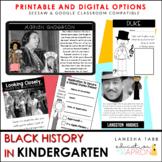 Black History in KINDERGARTEN!