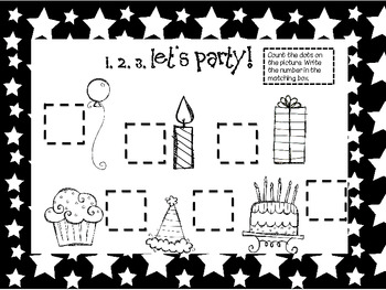 Let's Celebrate Centers!  Birthday Fun!