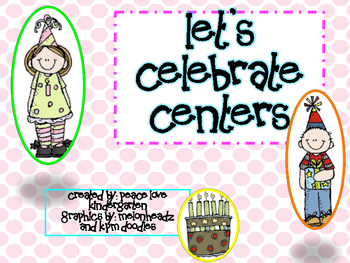 Let's Celebrate Centers!  Birthday Fun!
