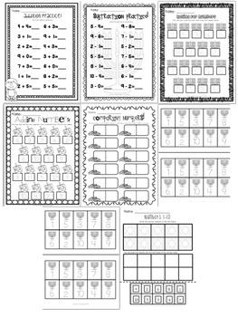 Let's Celebrate Hanukkah : Literacy & Math Printables!
