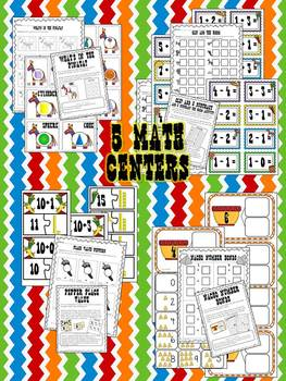 Let's Celebrate! {Math & ELA Centers, 3 Craftivities & More for CCSS}