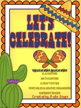 Let's Celebrate! {Math & ELA Centers, 3 Craftivities & Mor