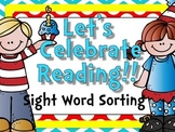 Let's Celebrate Reading {Sight Word Sort}