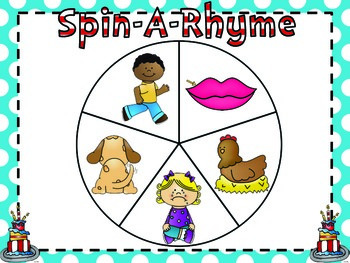 Let's Celebrate Reading {Spin-A-Rhyme}