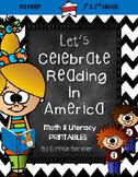 Let's Celebrate Reading in America {NO PREP Printables}