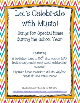 Let's Celebrate!: Songs for Special Times Throughout the School Year