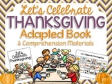 Let's Celebrate Thanksgiving: Adapted Book