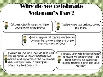 Let's Celebrate Veteran's Day!