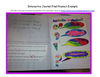 Let's Celebrate as we Punctuate- FULL Lesson Plans and Slides
