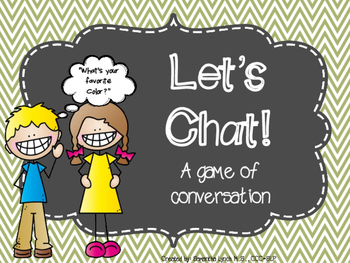 Let's Chat! A Conversation Game