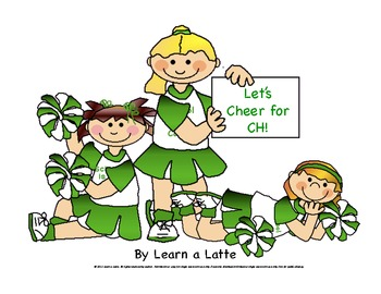 """Let's Cheer for CH! - a picture sorting game focusing on digraph """"ch"""""""