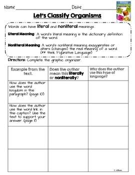 2014 Let's Classify Organisms ReadyGen Grade 3 Lesson 13