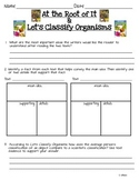 2014 Let's Classify Organisms and At the Root of It  ReadyGen Grade 3 Lesson 16