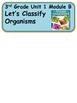 ReadyGen Let's Classify Organisms Vocabulary 3rd grade Unit 1 Module B