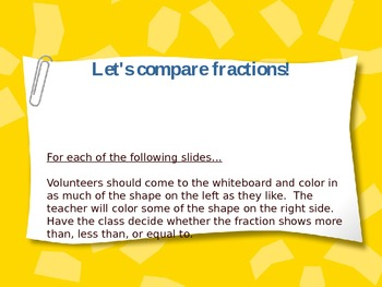 Let's Compare Fractions