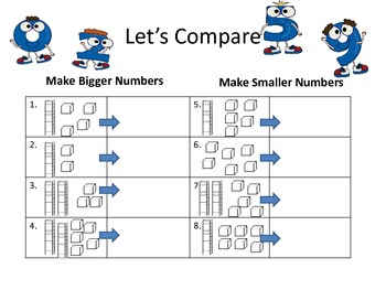 Let's Compare Numbers 0-30 with Place Value